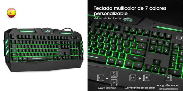 Teclado gaming Rii RK900 barato en Amazon