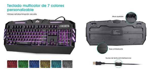 Teclado gaming Rii RK900 en oferta en Amazon