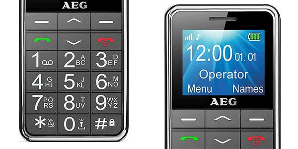 teléfono móvil AEG M250 con teclas grandes oferta