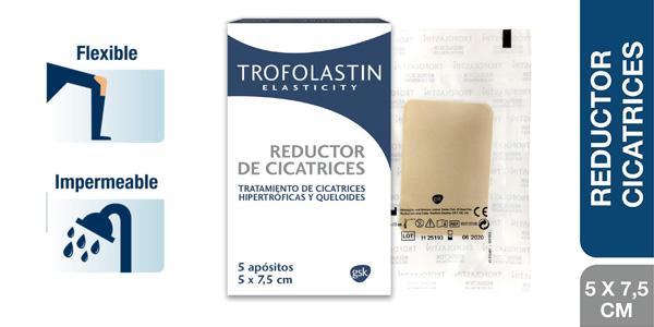Trofolastin Reductor de Cicatrices 5 apósitos barato en Amazon