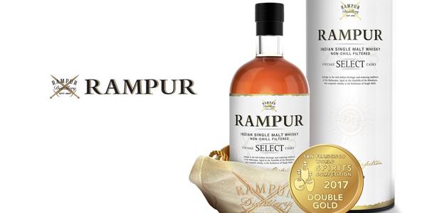 Botella Whisky Rampur Vintage Select Casks Indian Single Malt de 700 ml barata en Amazon