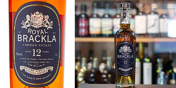 Whisky Royal Brackla de 12 años de 1.000 ml barato