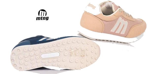 Zapatillas deportivas MTNG 69194 para mujer chollo en Amazon