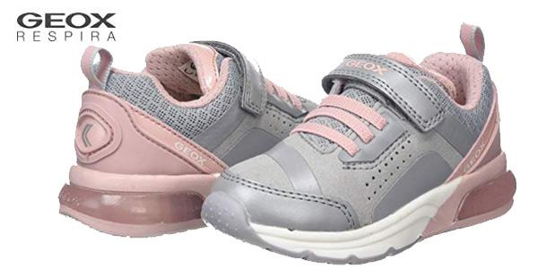Zapatillas Geox J Spaceclub Girl C para niña baratas en Amazon
