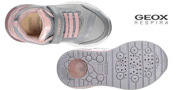 Zapatillas Geox J Spaceclub Girl C para niña chollo en Amazon