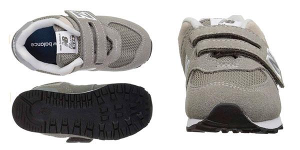 Zapatillas infantiles New Balance 574V2 Core Velcro en oferta en Amazon