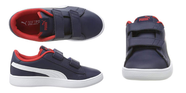 Zapatillas infantiles Puma Smash V2 L V PS en oferta en Amazon