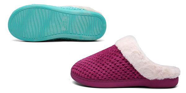 Zapatillas de invierno para casa Mishansha en oferta en Amazon