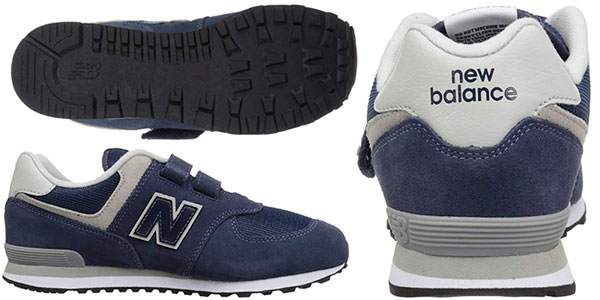 Zapatillas New Balance Hook And Loop 574 Core para niños baratas