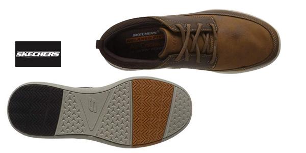 Zapatos Náuticos Skechers Elent-Leven para hombre chollazo en Amazon