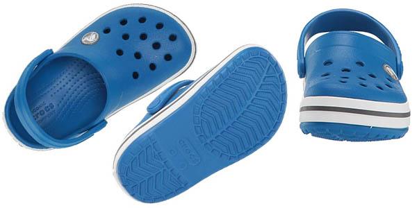 zuecos infantiles Crocs Crocband Clog Kids oferta