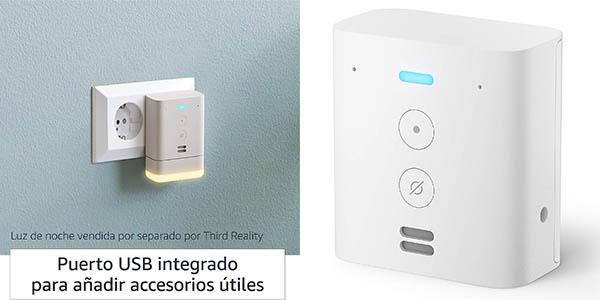 Minialtavoz inteligente Amazon Echo Flex con Alexa