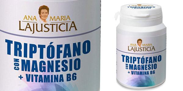 Triptofano con magnesio + VIT B6 Ana Maria Lajusticia de 60 comprimidos barato en Amazon