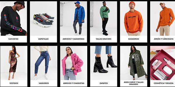 Asos ofertas en ropa para el Black Friday 2019