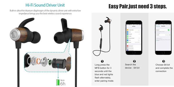 Auriculares inalámbricos Bluetooth Dodocool CVC 6.0 en oferta en Amazon
