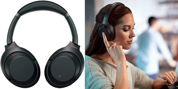 Auriculares Sony WH-1000XM3 inalámbricos baratos
