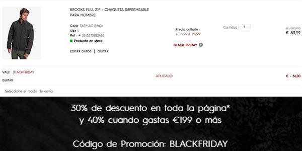 Black Friday 2019 ofertas en ropa
