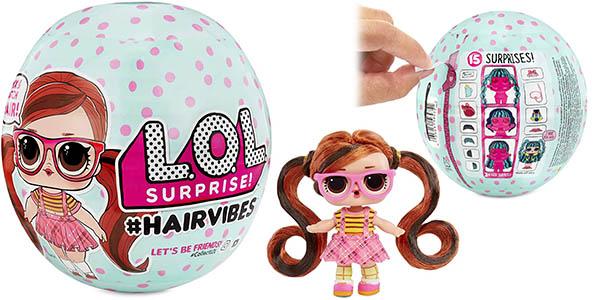 Bola sorpresa L.O.L Surprise! #Hairvibes