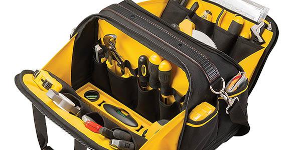bolsa para herramientas Stanley Fatmax resistente y barata