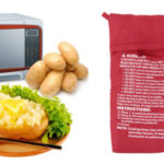 Bolsa asar patatas al microondas barata en Amazon