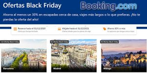 Booking Black Friday 2020