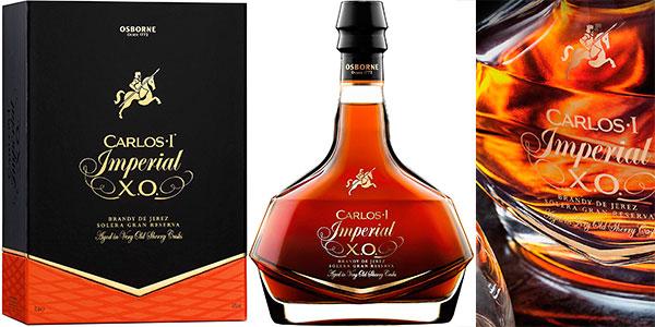Brandy Carlos I Imperial Solera Gran Reserva de 700 ml barato