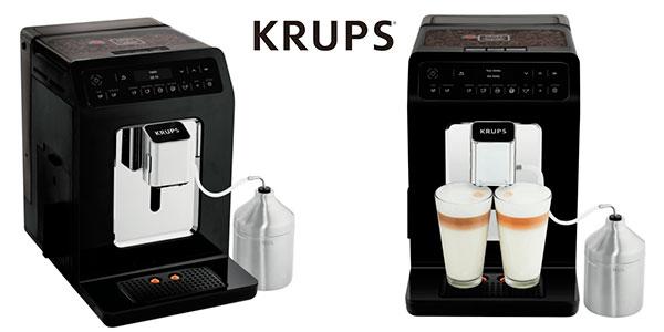 Cafetera Krups Evidence express superautomática barata