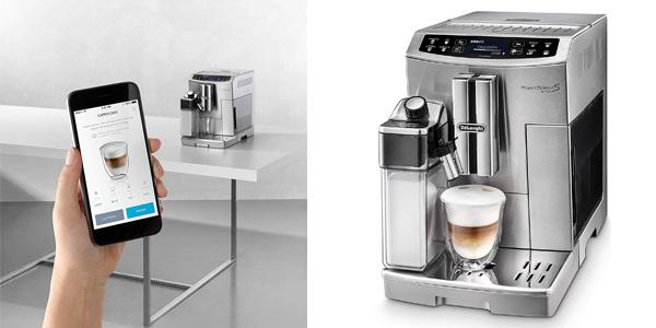 Cafetera automática De'Longhi ECAM 510.55.M PrimaDonna S EVO barata en Amazon