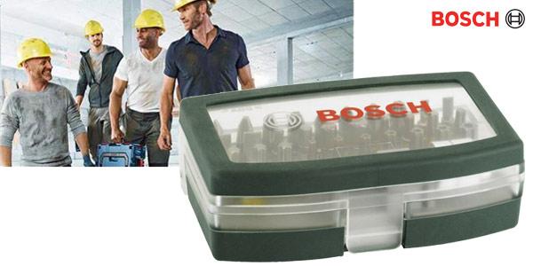 Set de 32 unidades Bosch Professional para atornillar chollazo en Amazon