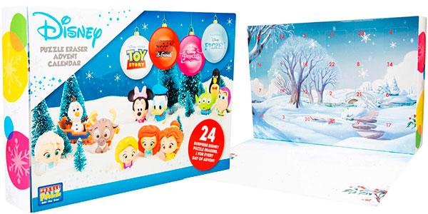 Calendario de Adviento Disney con 24 figuras barato