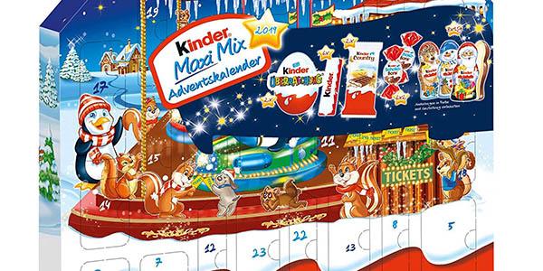 calendario de adviento Kinder Maxi Mix oferta
