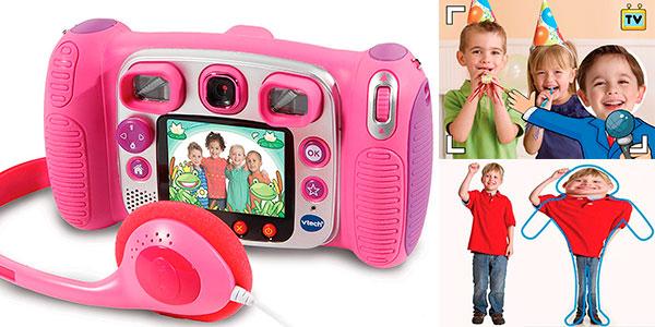 Cámara de fotos infantil VTech Kidizoom Duo 5.0 barata