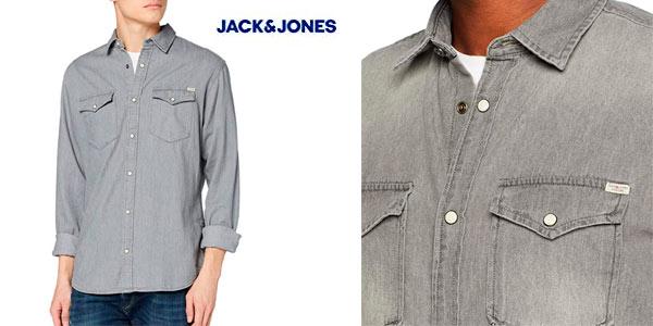 Camisa vaquera Jack & Jones JJesheridan barata en Amazon