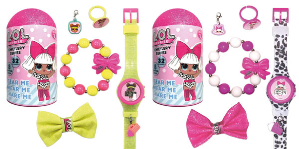 Reloj de pulsera LOL Surprise LLD21000 para niña chollazo en Amazon