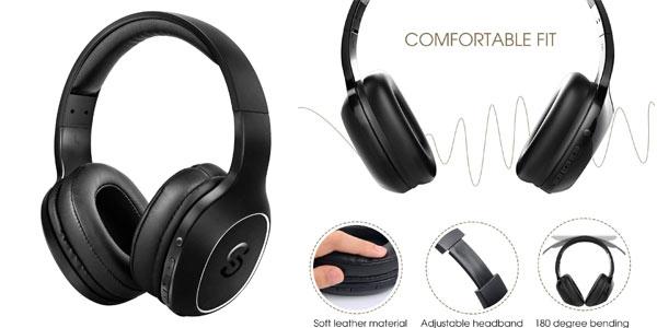 Cascos Bluetooth SoundPEATS A2 Upgrade baratos en Amazon