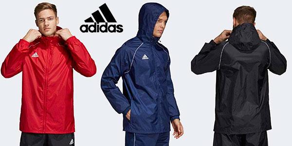 Chollo Chubasquero Adidas Core 18 para hombre en varios modelos