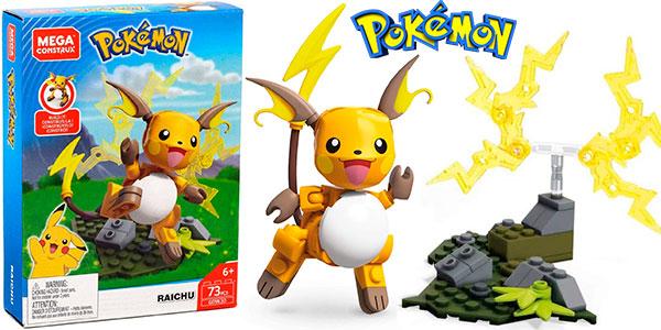 Chollo Figura Pokémon Raichu de Mega Construx