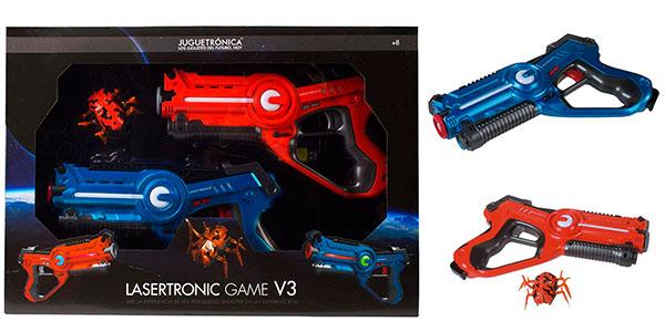 Chollo Juego de puntería Lasertronic Game V3 con 2 pistolas