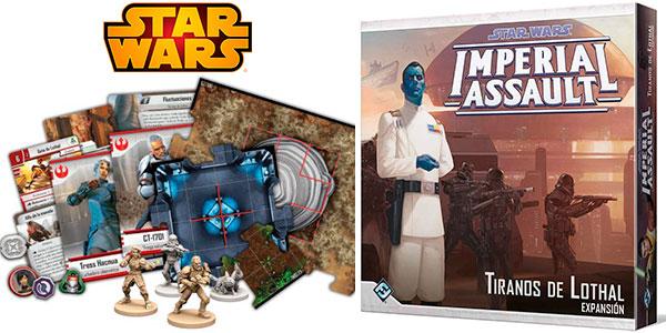 Chollo Juego Star Wars Imperial Assault: Tiranos de Lothal (expansión)