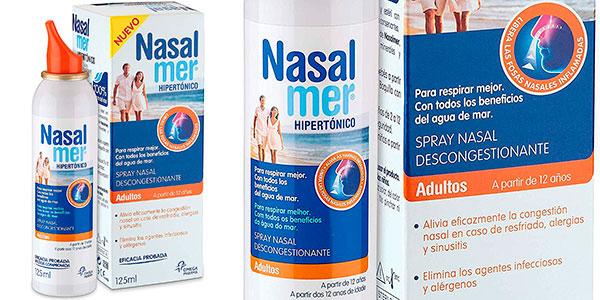 Chollo Spray nasal descongestionante Nasalmer para adultos de 125 ml