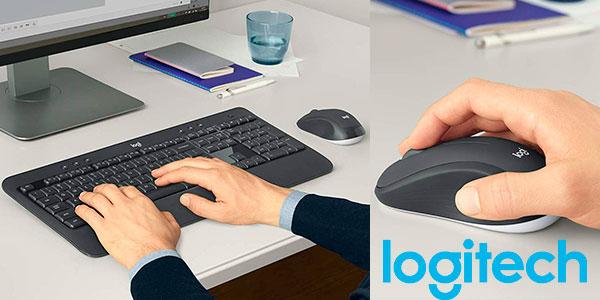 Chollo Pack Teclado + ratón Logitech MK540 Advanced inalámbricos