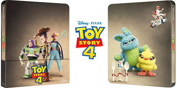 Chollo Toy Story 4 Edición Steelbook Blu-ray