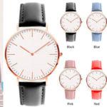 Chollo Reloj de pulsera Zwbfu ultra delgado unisex
