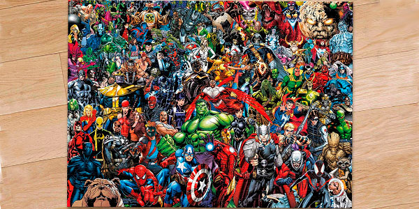 Chollo Rompecabezas Marvel Impossible Puzzle de 1.000 piezas