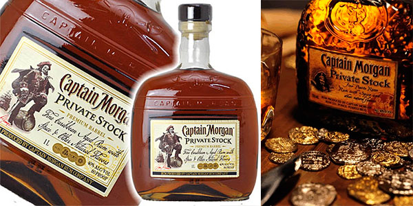 Chollo Ron Captain Morgan Private Stock de 1.000 ml