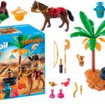 Chollo Set Campamento egipcio de Playmobil con 2 figuras