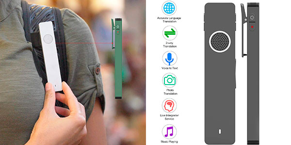 Chollo Traductor Aibecy One Mini con Bluetooth 5.0