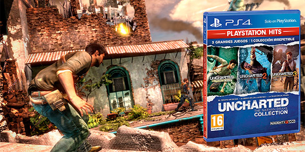 Uncharted: The Nathan Drake Collection para PS4 en oferta