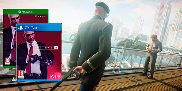 Chollo Hitman 2 para PS4 y Xbox One