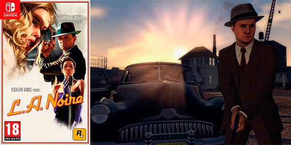 Chollo Videojuego L.A. Noire para Nintendo Switch